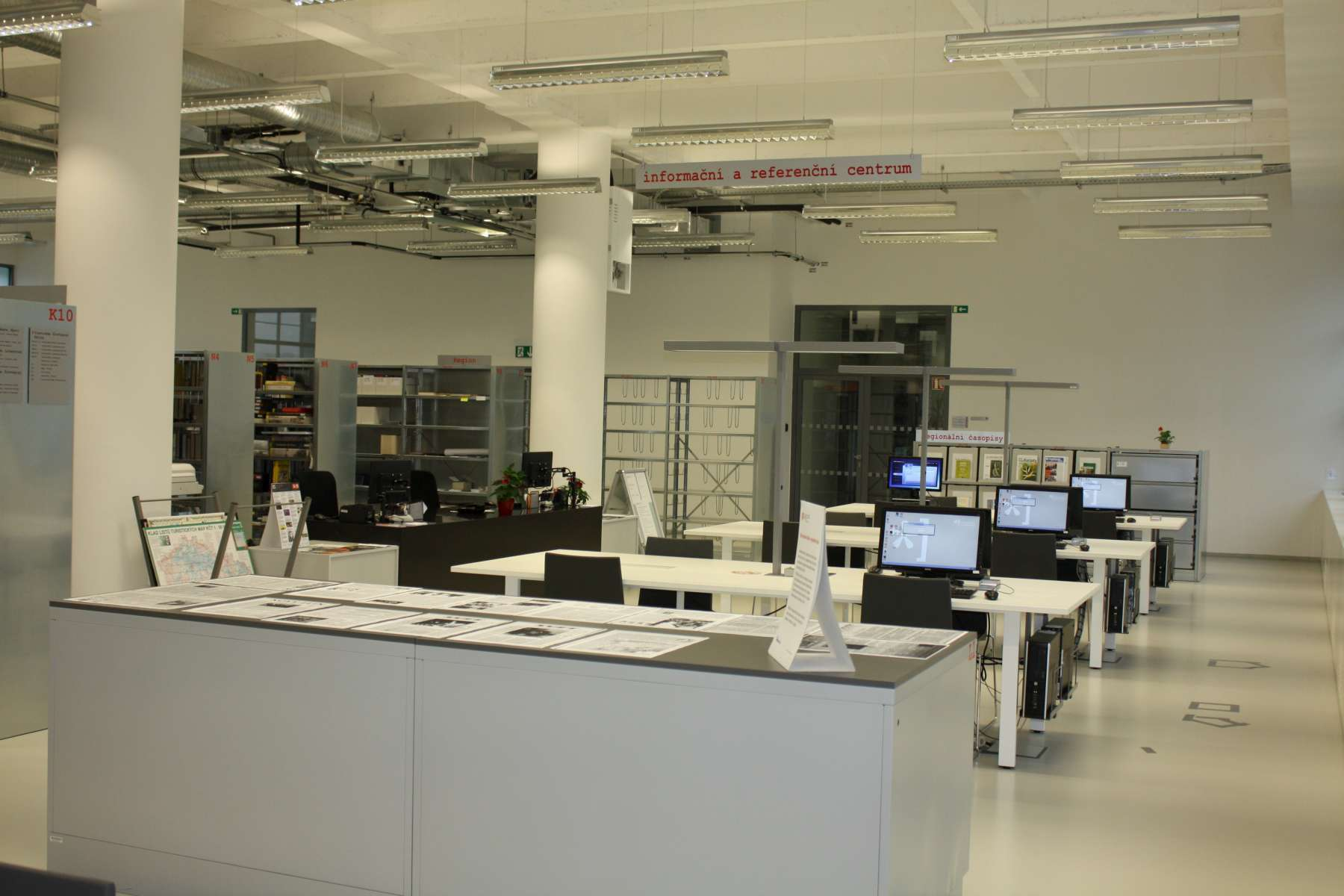 Pohled do Informačního a referenčního centra
