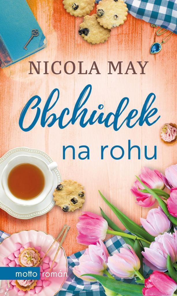 Obchůdek na rohu / Nicola May - obálka knihy