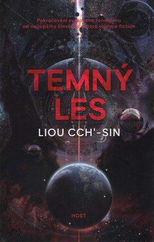 Temný les / Liou Cch'-sin - obálka knihy