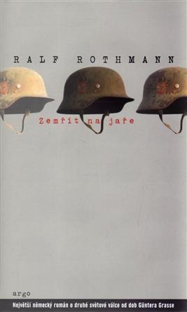 Zemřít na jaře / Ralf Rothmann - obálka knihy