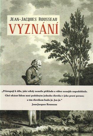 Vyznání / Jean-Jacques Rousseau - obálka knihy