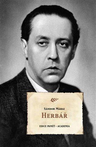 Herbář / Sándor Márai - obálka knihy