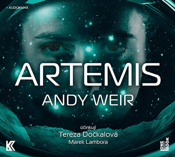 Artemis [audiokniha] Andy Weir - obálka CD