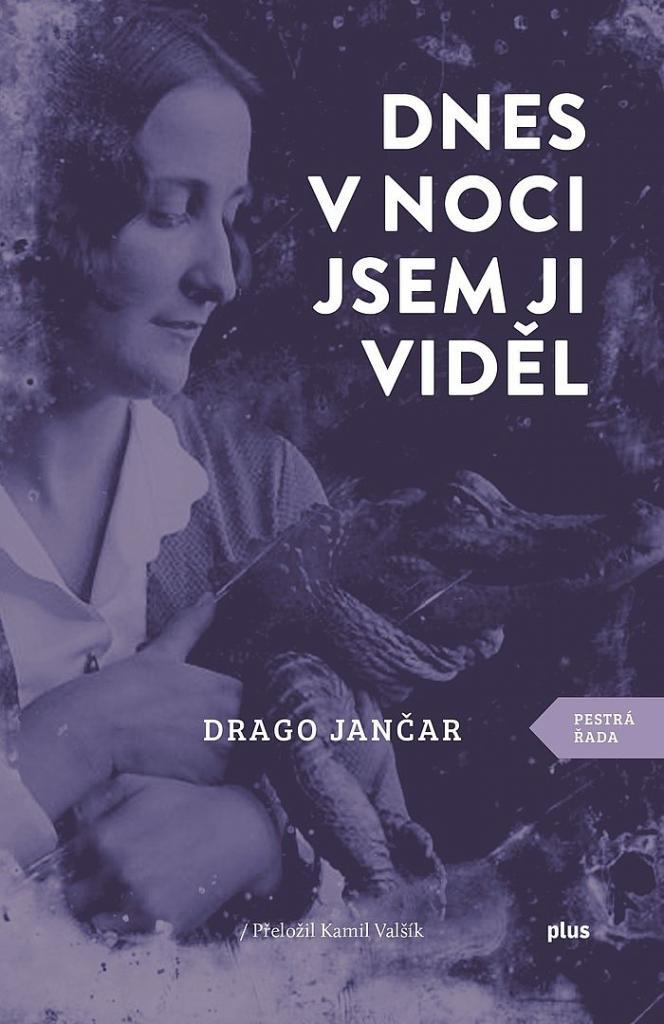 Dnes v noci jsem ji viděl / Drago Jančar - obálka knihy