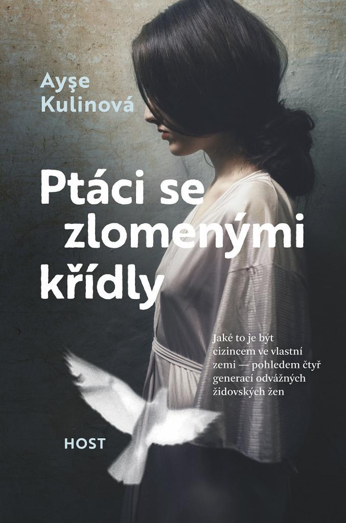 Ptáci se zlomenými křídly / Ayşe Kulinová - obálka knihy