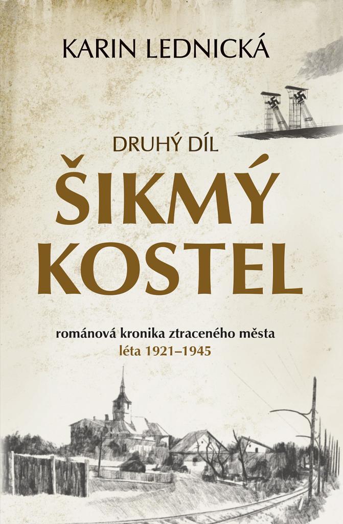 Šikmý kostel 2 / Karin Lednická - obálka knihy
