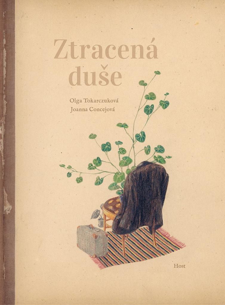 Ztracená duše / Olga Tokarczuková, Joanna Concejová - obálka knihy