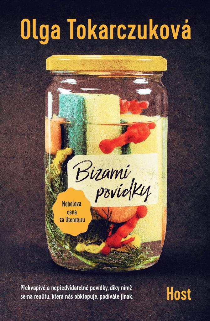 Bizarní povídky / Olga Tokarczuková - obálka knihy