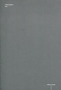 Zóna / Ondřej Buddeus - obálka knihy