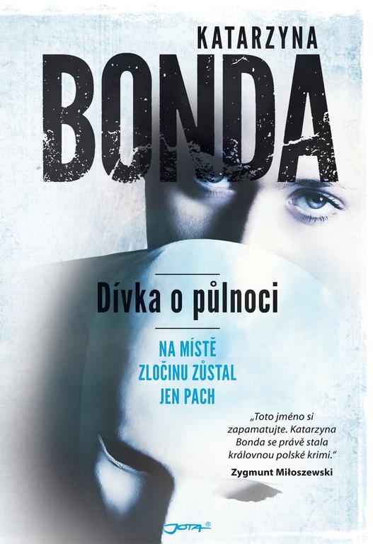 Dívka o půlnoci / Katarzyna Bonda - obálka knihy