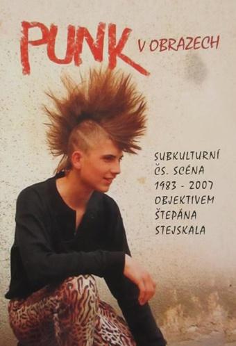 Punk v obrazech: subkulturní čs. scéna 1983-2007 objektivem Štěpána Stejskala / Radka Veverková - obálka knihy