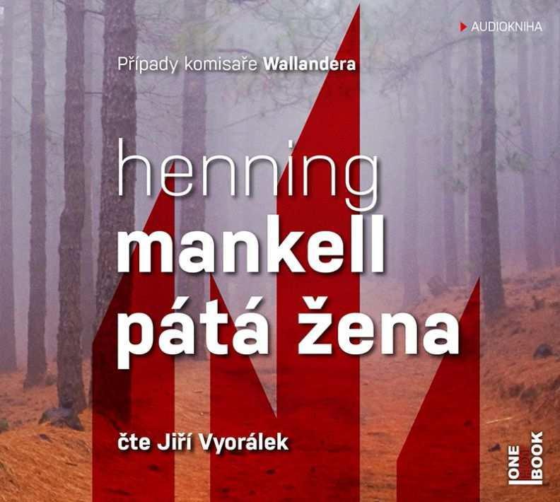 Pátá žena [audiokniha] / Henning Mankell - obálka CD