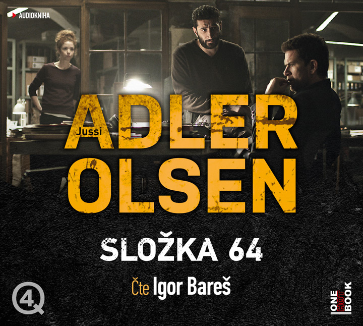 Složka 64 [audiokniha] / Jussi Adler-Olsen - obálka CD