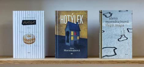 Autorské čtení Aleny Mornštajnové