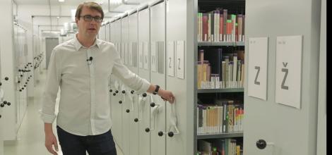 KULTURA na NETU: Zákulisí knihovny