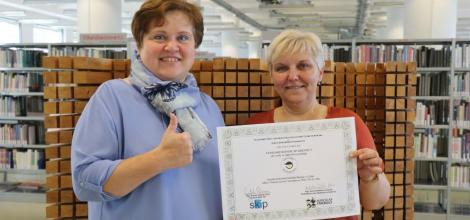Knihovna získala certifikát Handicap Friendly