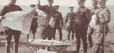Vojenské manévry během 1. světové války