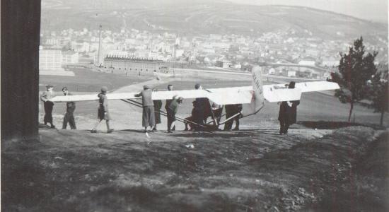 Z historie sportovního letectví na Zlínsku