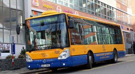Omezení autobusové linky 38