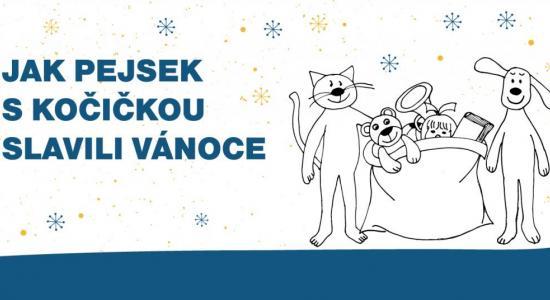 Jak pejsek s kočičkou slavili Vánoce