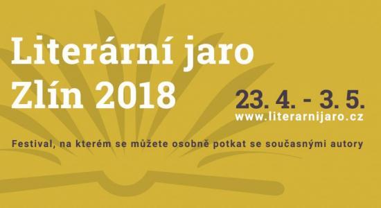 Literární jaro Zlín 2018