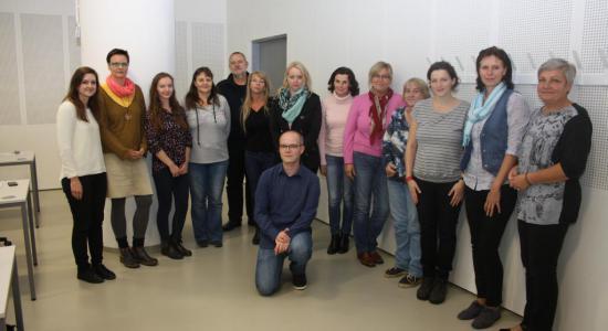 Účastníci Kurzu knihovnického minima 2017