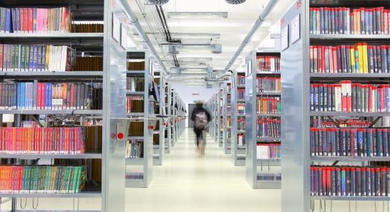 Knihovna - interiér