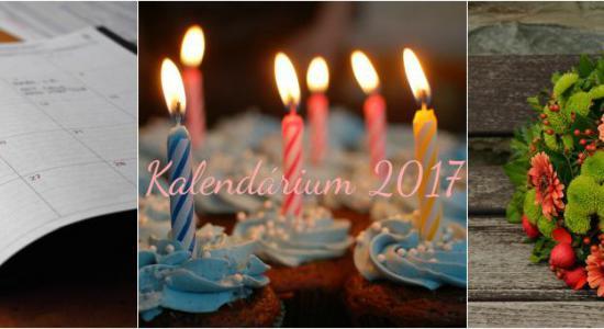 Kalendárium 2017 - vybraná výročí osobností města Zlína