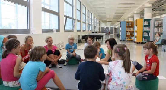 Dětské oddělení ústřední knihovny KKFB Zlín