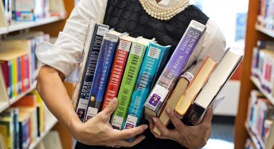 Prodej vyřazených knih