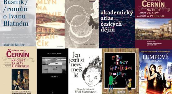 Magnesia Litera 2015 - obálky oceněných knih