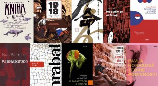 Vítězné knihy Magnesia Litera 2019