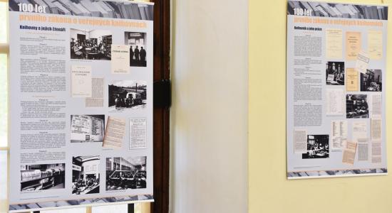 100 let zákona o knihovnách