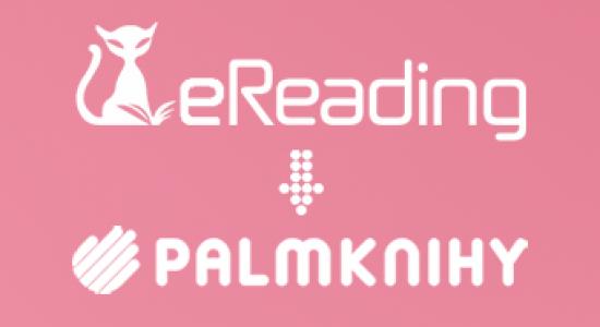 eReading a Palmknihy - slučování