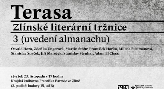 Terasa Zlínské literární tržnice