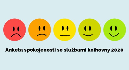 logo Průzkum spokojenosti se službami knihovny